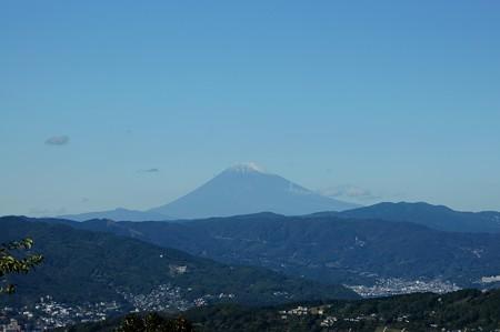 小室山山頂から富士山