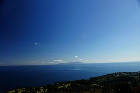 小室山から伊豆大島