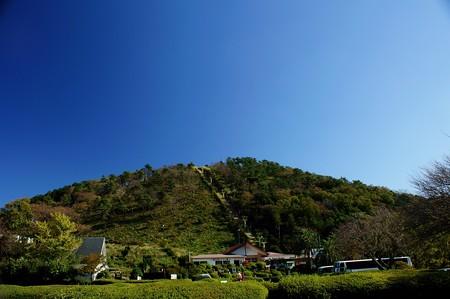 小室山全景