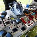 写真: 魔改造(?)されたゲーム機