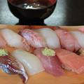 写真: 地物寿司