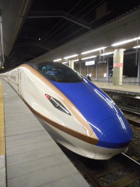 E7系F4編成(12両編成)東京始発あさま623号長野行き