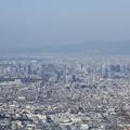 Photos: 2366 生駒山から遥か大阪城@奈良