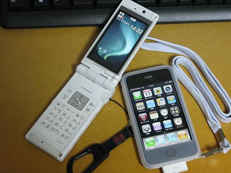 携帯電話とiPhone