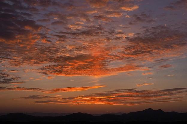 写真: やがて日の出