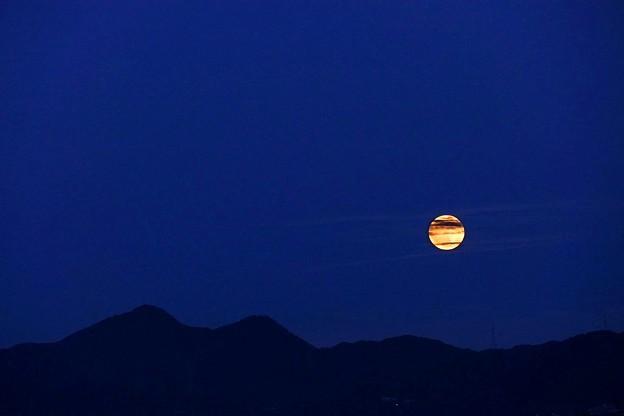 Photos: 中秋の名月の翌日のお月さま