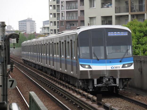 横浜市営ブルーライン3000V形 3611F