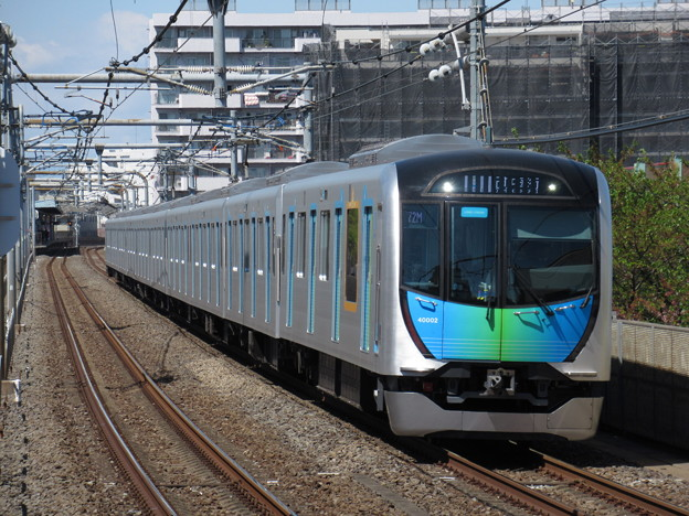 西武池袋線S-TRAIN40000系 40102F