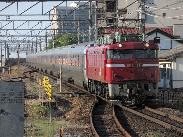 Photos: EF81 139+E26系カシオペア