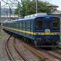 東武越生線8000系 8198F【BLUE BIRD青い鳥号】