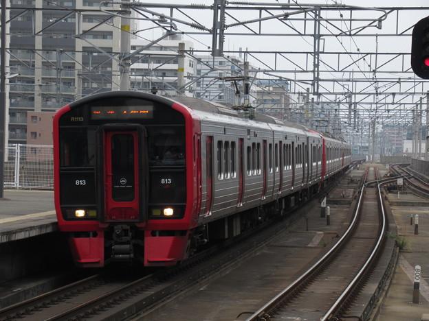 鹿児島線813系1100番台 R1113+R217+R225編成