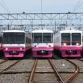 Photos: 新京成N848F・8918F・8807F・8518F・8512F 5並び