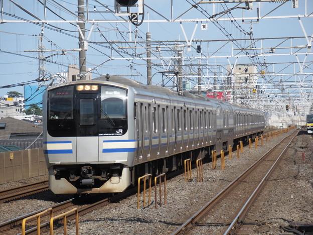 横須賀・総武快速線E217系 Y-16編成