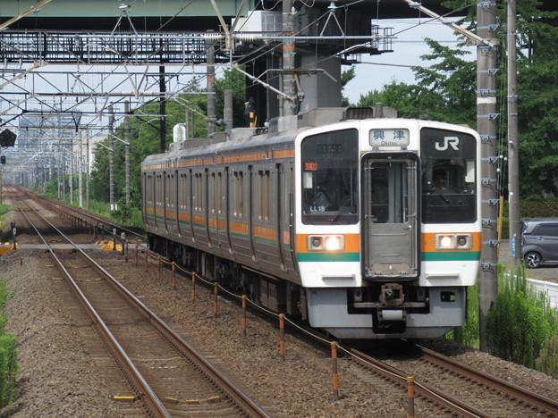 東海道線211系5000番台 LL18編成