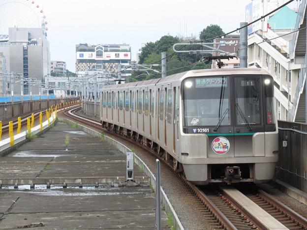 横浜市営グリーンライン10000形 10161F【どうぶつはまりん号】
