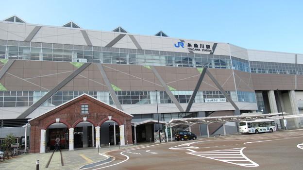 [JR西日本]糸魚川駅 アルプス口