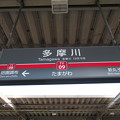 #TY09 多摩川駅 駅名標【東横線 上り】