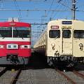 Photos: 東武1819F・8111F 2並び