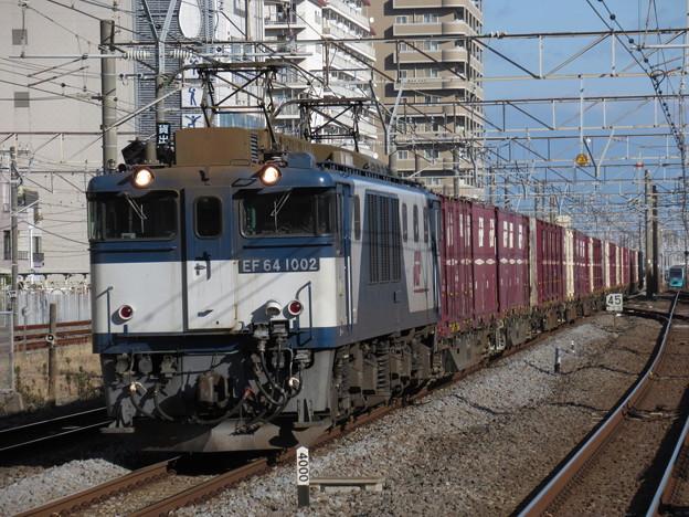 EF64 1002+コキ