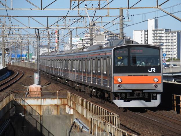 武蔵野線205系5000番台 M33編成