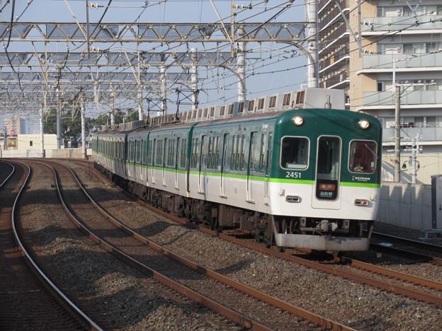 京阪線2400系 2461F