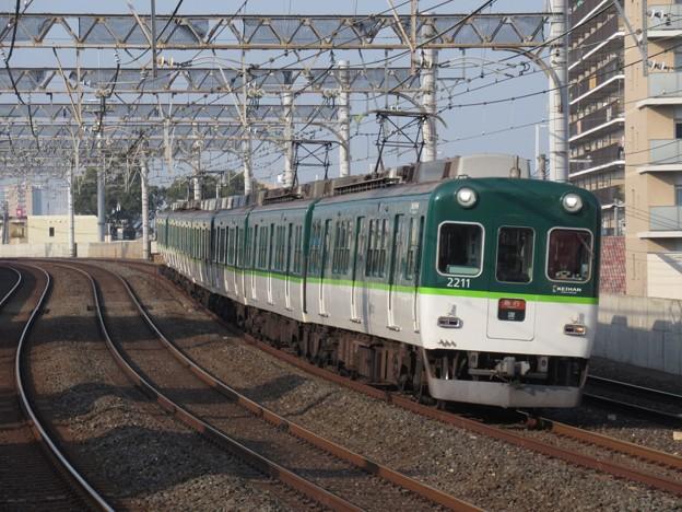 京阪線2200系 2211F