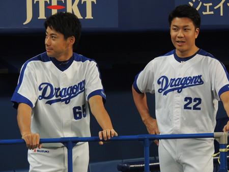伊藤選手と大野選手。