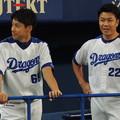 写真: 伊藤選手と大野選手。