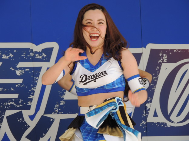 写真: 力武麗奈さん。