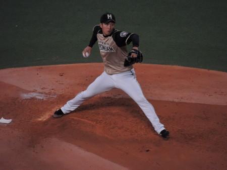 斉藤祐樹投手。