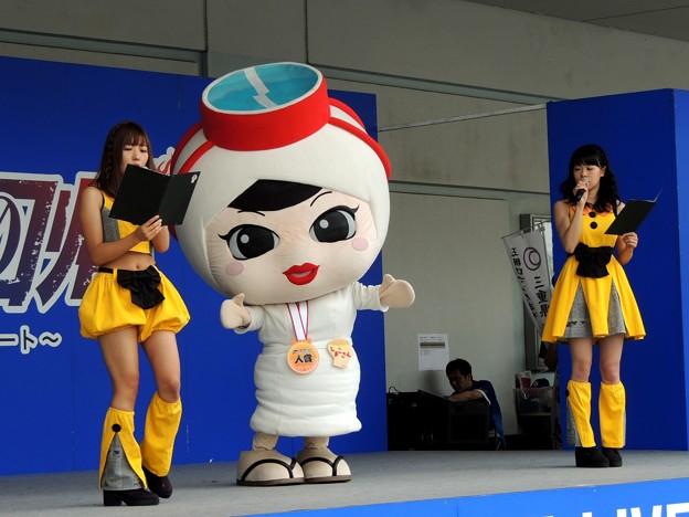 写真: 三重県志摩市のキャラクター。