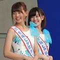 写真: 安城七夕親善大使のお姉さん。