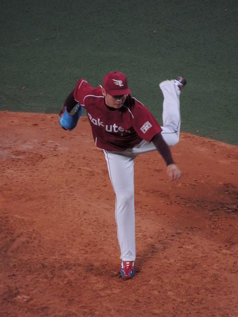 写真: 松井祐樹投手。