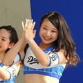 写真: 藤倉さんと向井さん。