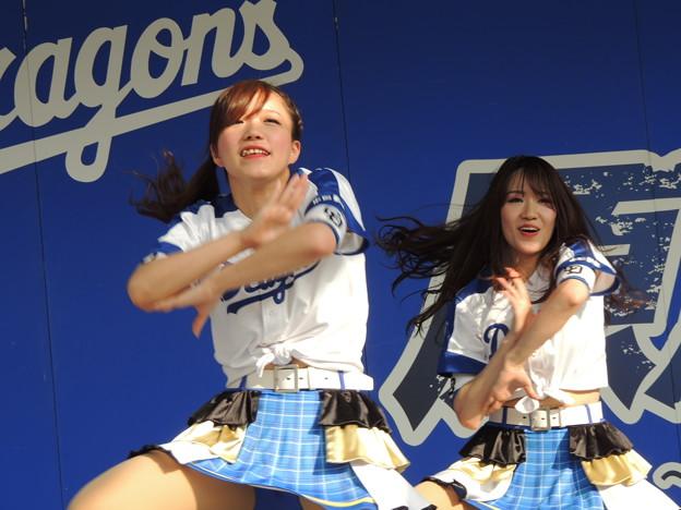 写真: 宮嶋さんと小木曽さん。