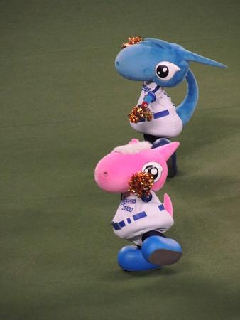 7/28(金) 夏の竜陣祭 ゆかたの祭典 月間MVP表彰とかドアラのオンユアマークスとか。