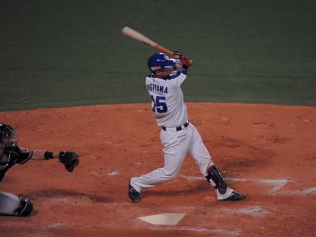 杉山翔大選手。