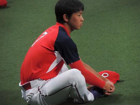 堂林翔太選手。