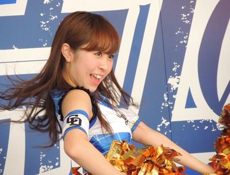 9/23(土) 横浜戦のDステでドリームスターズパーティーのあと 山本昌さん、慎之介くん。