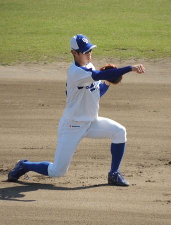 京田陽太選手。