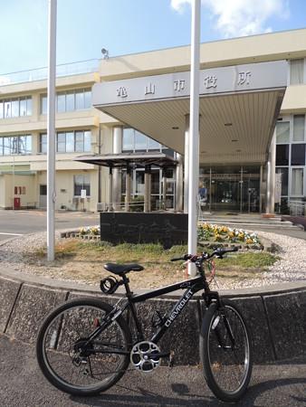 亀山市役所。