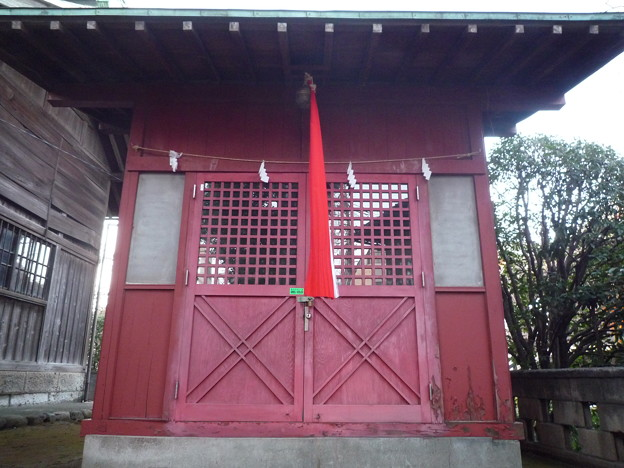 稲荷神社(蓮沼氷川神社 内) 8