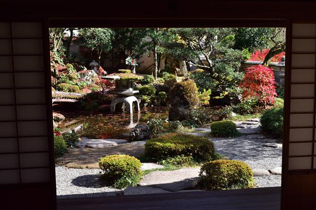 楽山荘庭園 1