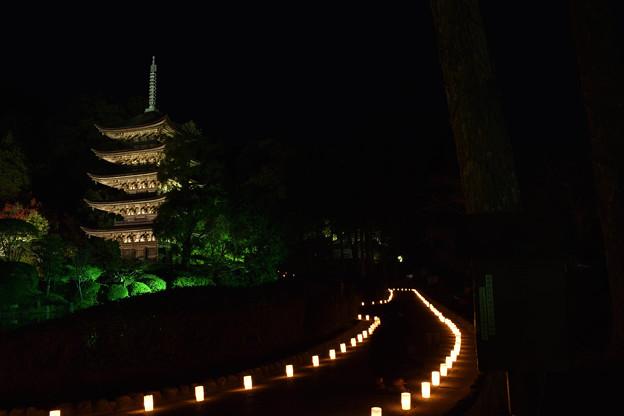 夜の五重塔 3