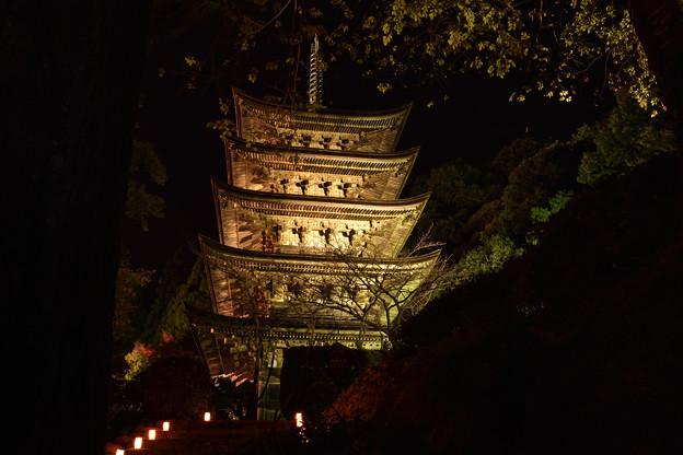 夜の五重塔 5