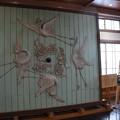 写真: 竹内源蔵記念館 鏝絵