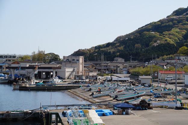 内浦の漁港