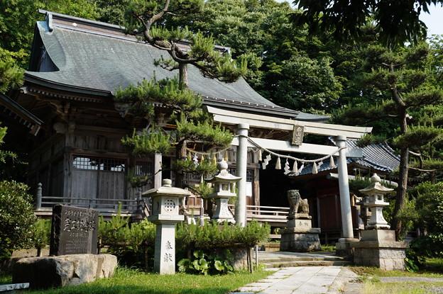 寺泊 白山媛神社