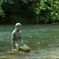 写真: 宮島峡ヴィーナス像巡り3 人魚の像