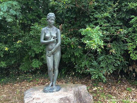 宮島峡ヴィーナス像巡り9 清風の像